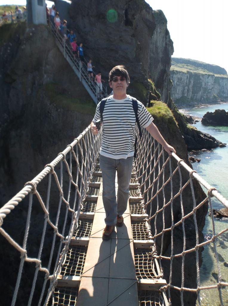 Erick Carrick-a-Rede Co. Antrim July 2014