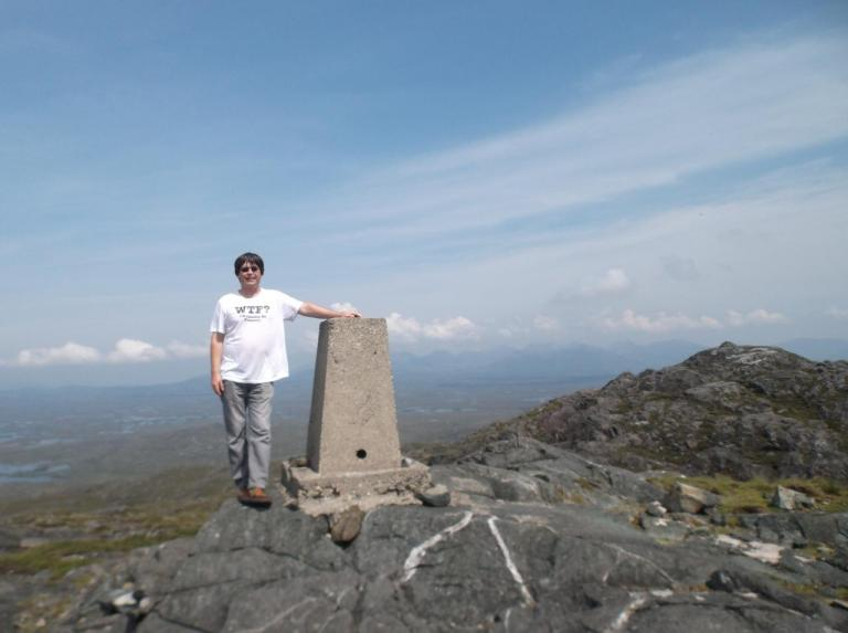Erick Connemara Mount Errisbeg July 2014